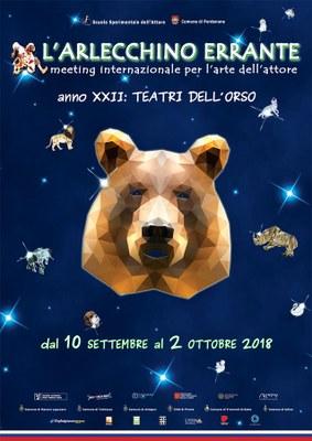 Meeting internazionale per l'arte dell'attore. Anno XXII: Teatri dell'orso. In questa pagina i prossimi appuntamenti in programma a Pordenone (programma completo http://www.arlecchinoerrante.com)