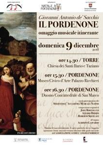 Omaggio musicale itinerante a Giovanni De Sacchis