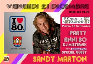 Sandy Marton in concerto