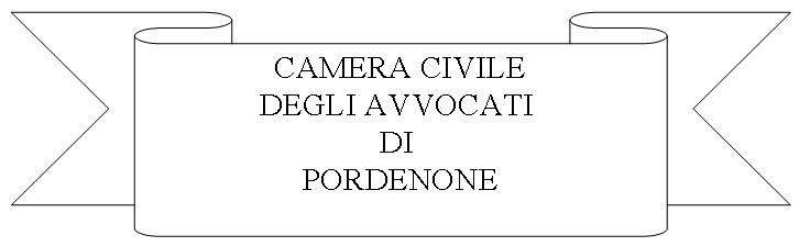 Logo Camera civile avvocati Pordenone
