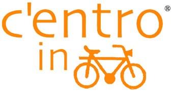 """Logo del progetto """"C'entro in bici"""""""
