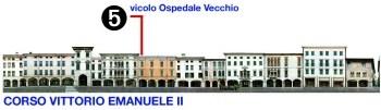 Vicolo dell'Ospedale Vecchio (pv)