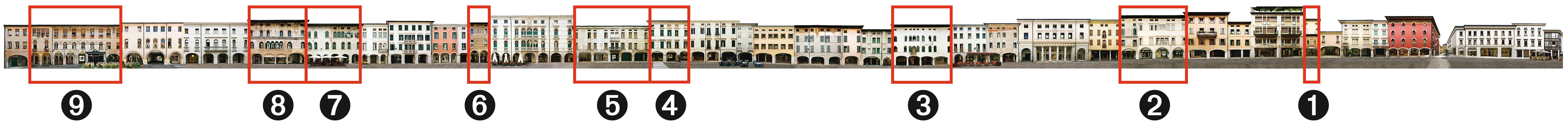 Lato ovest di Corso Vittorio Emanuele - numeri-OLD