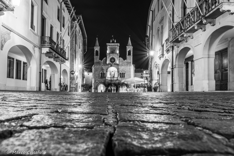 Corso Vittorio Emanuele II e Loggia del Municipio