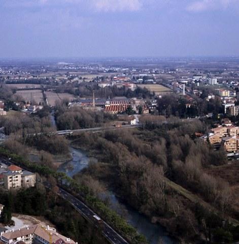 Pordenone - Il fiume Noncello