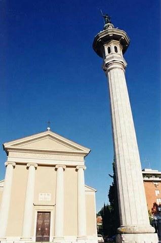 Pordenone - Chiesa e campanile di San Giorgio
