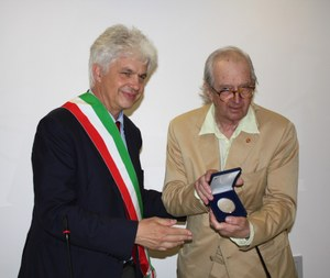 8 giugno 2012, Sigillo della città conferito a Italo Zannier