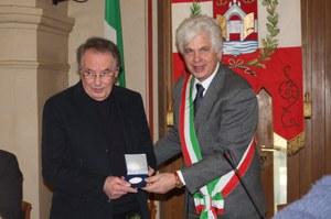 19 dicembre 2012, Sigillo della città conferito a Nane Zavagno