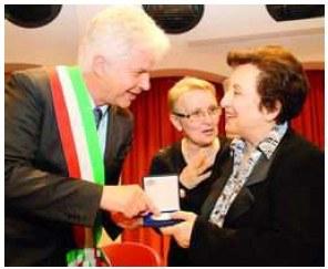 Sigillo della città a Shirin Ebadi