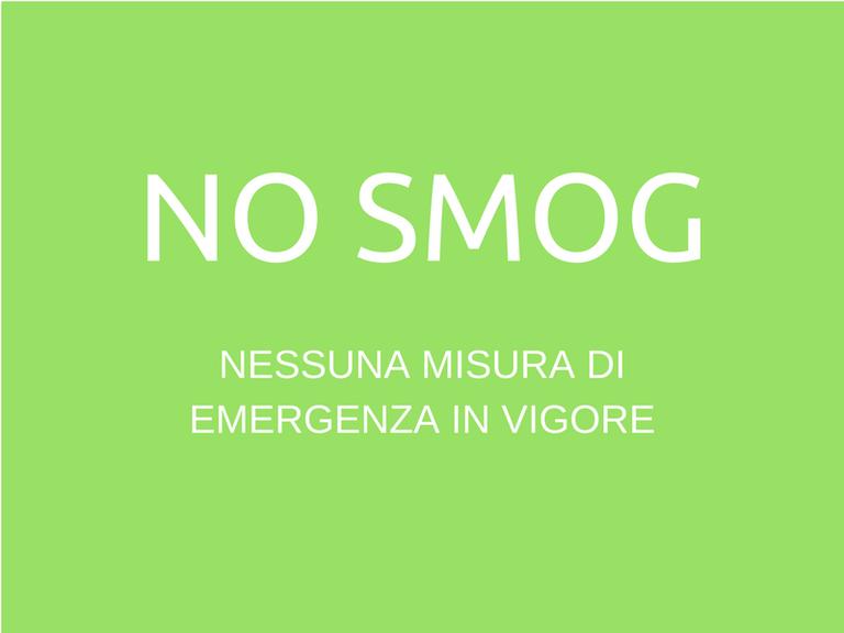 Revocate le misure di emergenza, smog entro i limiti