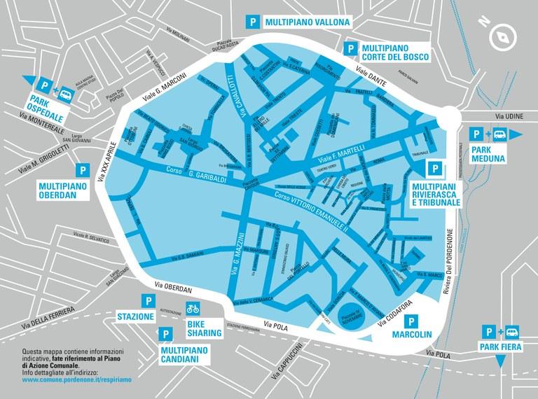 Limiti al traffico in centro, chi può circolare e chi no