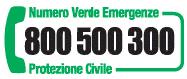 Numero Verde 800 500 300
