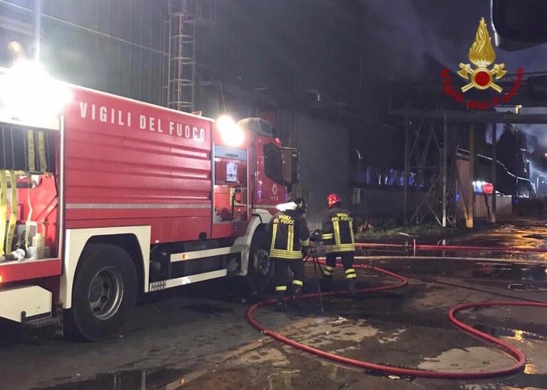 Incendio alla Snua di Aviano, info e aggiornamenti