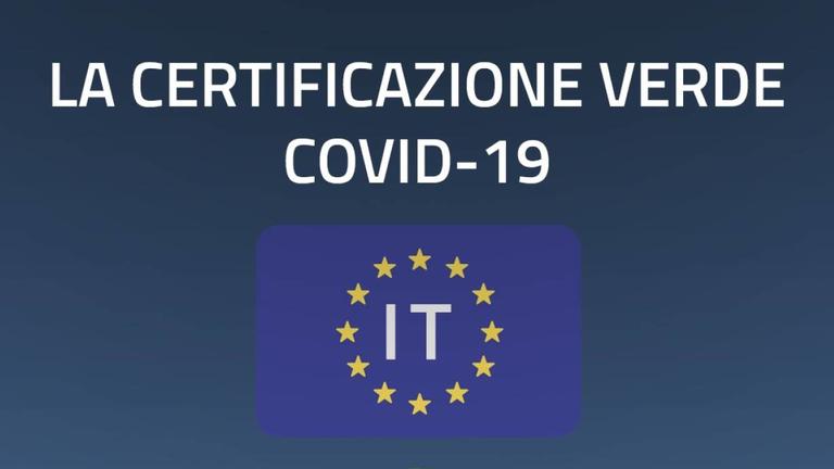 """Le informazioni di base sulla """"Certificazione verde COVID-19"""""""