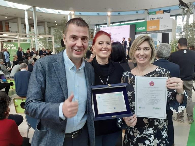 Città green, Pordenone riceve il premio Sviluppo sostenibile 2019
