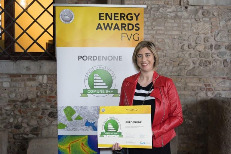 Efficienza energetica e politiche green, Comune di Pordenone premiato