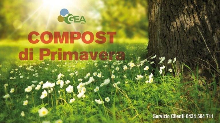 Dal 30 marzo e fino ad esaurimento scorte è possibile ritirare gratuitamente un sacchetto di compost.