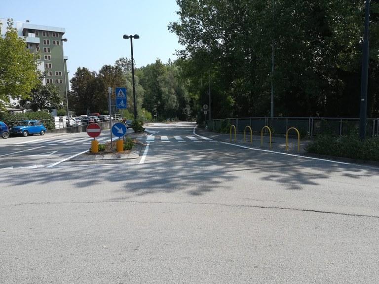 Lavori per nuova ciclabile, chiude accesso a via Revedole da via Martelli