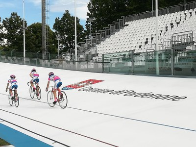 Nuovo velodromo Bottecchia  promosso in prima classe internazionale