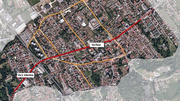 Questionario per la partecipazione attiva dei cittadini al progetto di riqualificazione del quartiere Torre, via San Valentino e via Piave. C'è tempo fino al 7 dicembre.