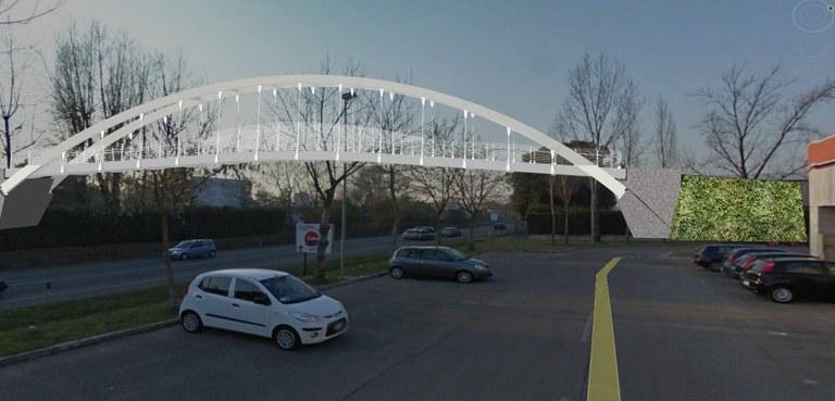 Collegherà l'area dell'istituto tecnico Flora al liceo Grigoletti