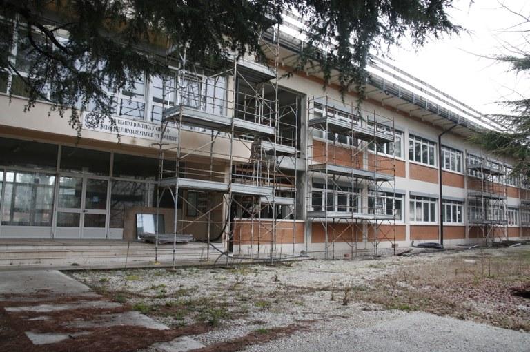 Scuola IV Novembre, ripartono i lavori