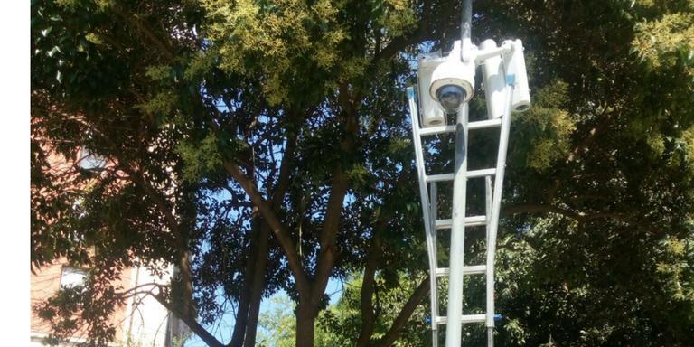 Sicurezza, telecamere al parco di via Bertossi
