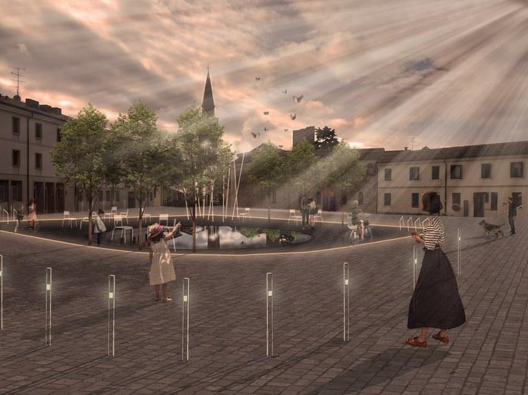 Lavori nel 2019. Restyling anche per piazza della Motta dove torna l'acqua. Leggi la descrizione di ciascun progetto e, in fondo alla pagina, la sintesi del piano.
