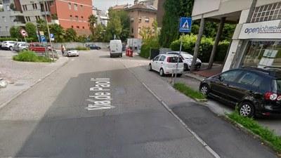 Via De Paoli, da lunedì chiude il bivio verso via Oberdan