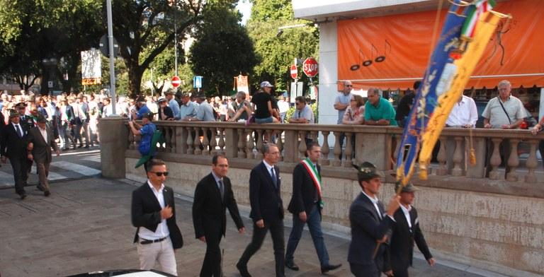 Si forma il corteo dal Piazzale Ellero a piazza XX Settembre