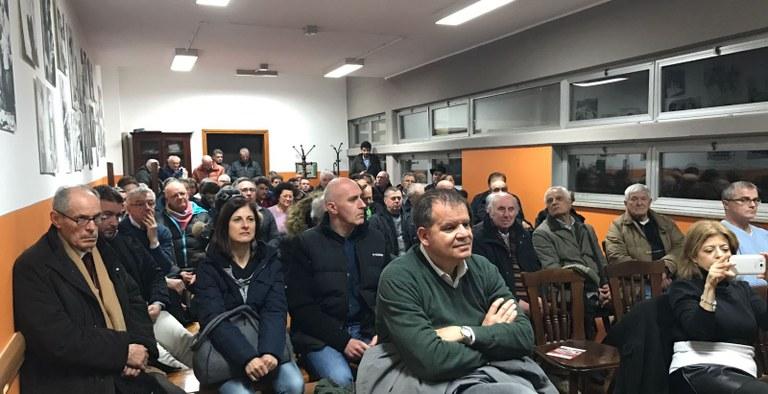 Foto Il pubblico all'incontro