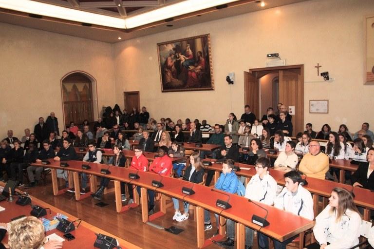 Foto Il pubblico in sala consiliare