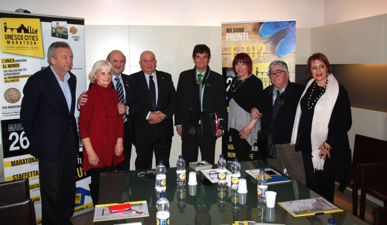 Foto Conferenza stampa all'ex convento di San Francesco