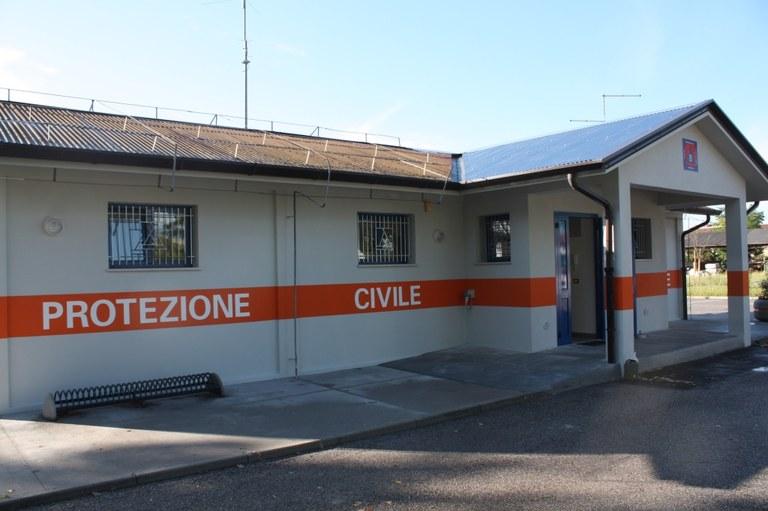 foto Una delle strutture della Protezione civile