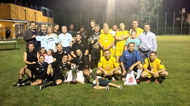 Foto Amministratori e calciatori