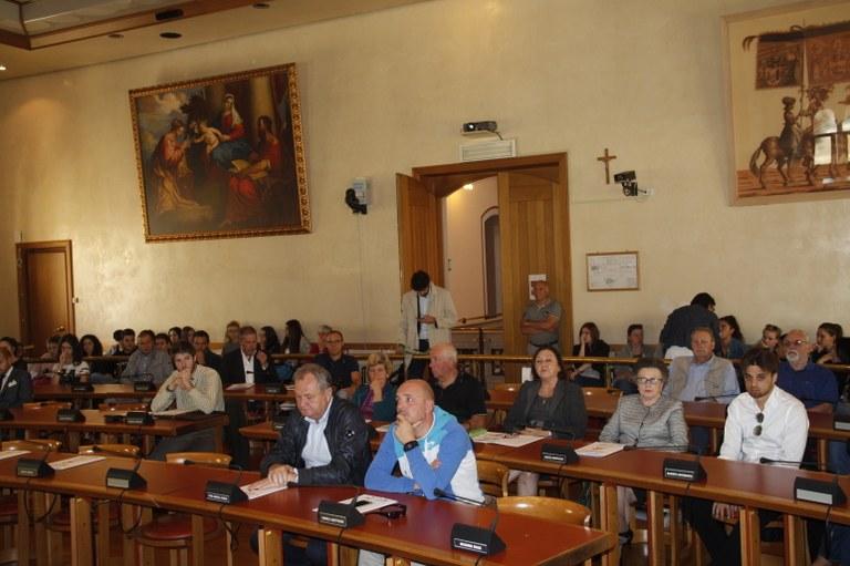 Foto Conferenza stampa Pubblico
