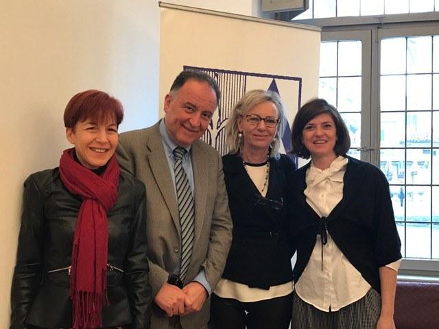 Foto  Assessore  Guglielmina Cucci e Presidente  Giuseppe Napoli