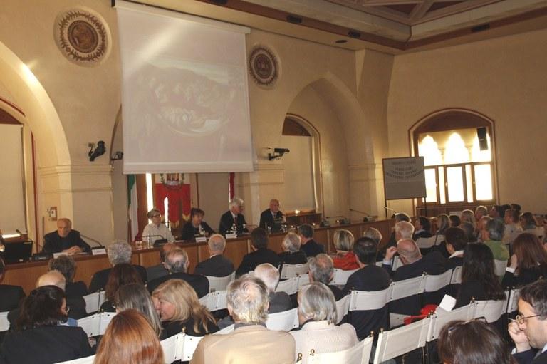 Foto  Presentazione del progetto di recupero