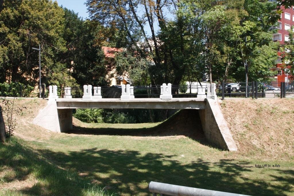 Foto Parco Querini  Il ponticello recuperato