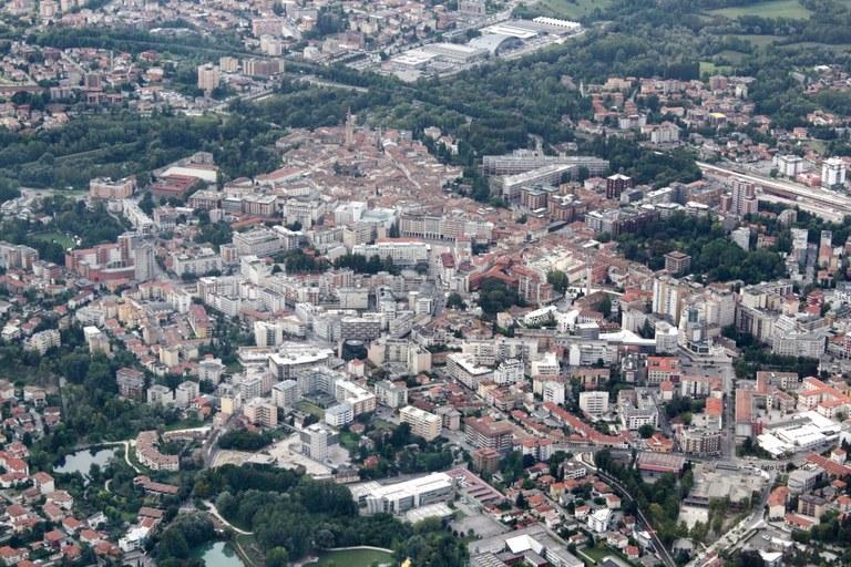 Foto Veduta aerea  di Pordenone