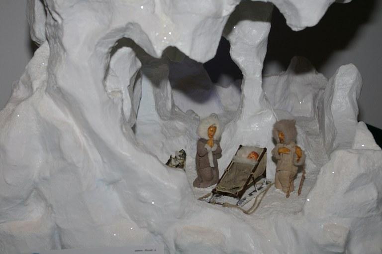 Foto  Una presepe alla Mostra  dei presipi artigianali