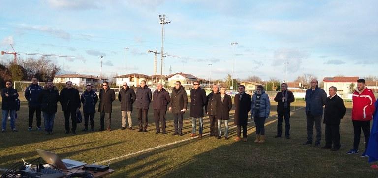 Foto  Amministratori pubblici e autorità sportive