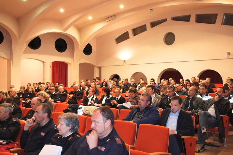 Foto    I partecipanti al corso di formazione