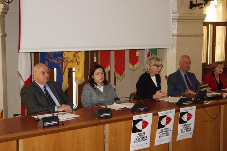 Conferenza stampa  I relatori