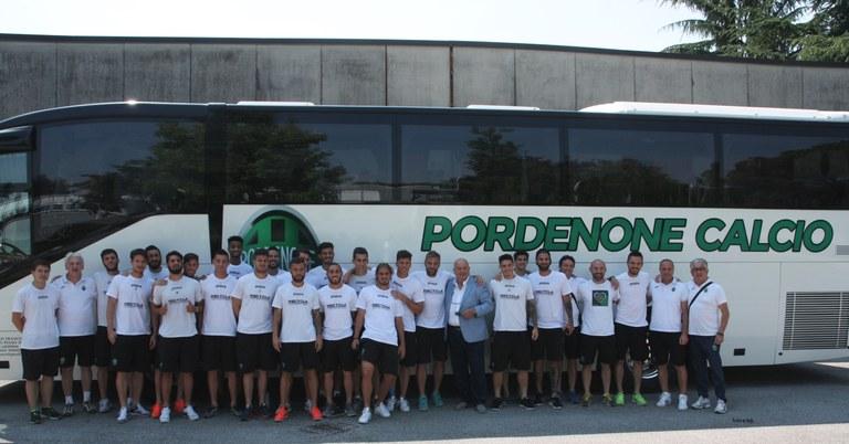 Foto La squadra in partenza
