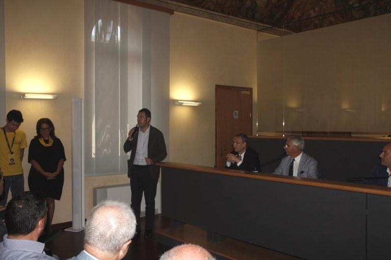 Foto  Conferenza stampa a Palazzo Badini