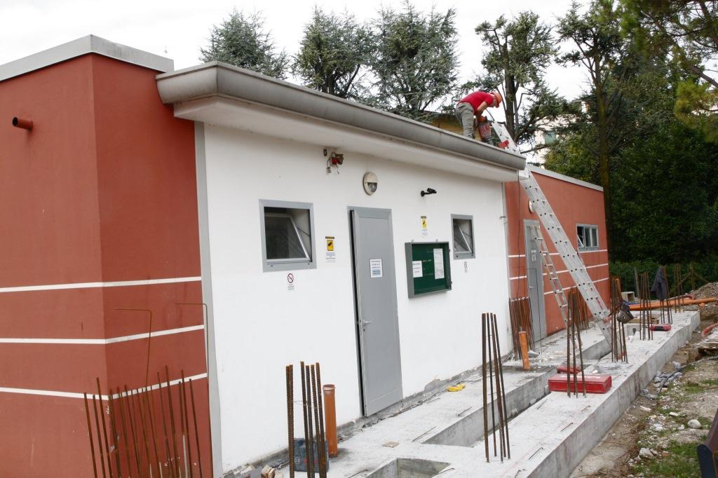 Foto   Preparazione delle armature all'impianto comunale di Via Gemelli