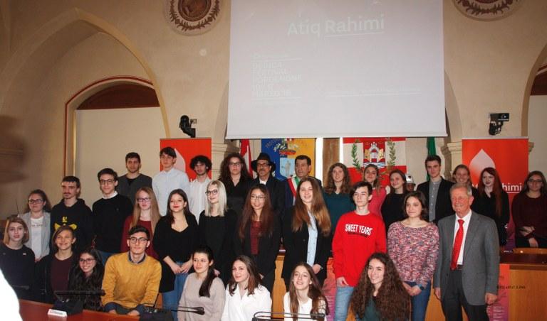 Foto  Studenti premiati e segnalati