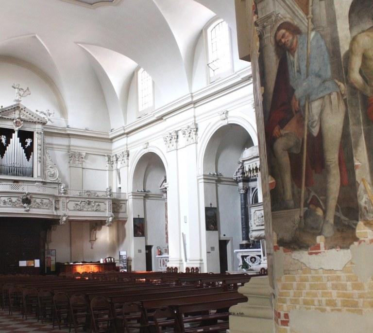 Foto   San Rocco affresco in duomo San Marco