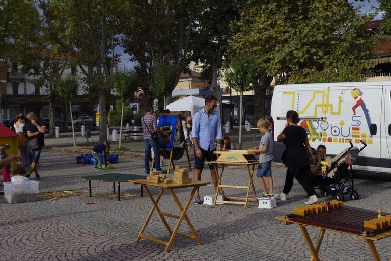 Foto   Ludobus  la sperimentazione delle attività